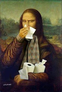 Mona resfriada