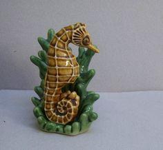Vintage Seahorse Seaweed Salt Pepper Shakers Ceramic Arts Studio | eBay