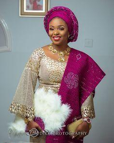 Congrats Oyinkansola ❤️! : @dikophotography #NigerianWedding
