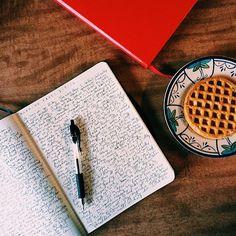 Simple writing streak.