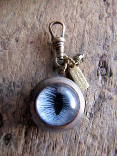Blue Cat Eye Locket Protector Series by AmandaDavieElements, $24.00 Tamsen ?