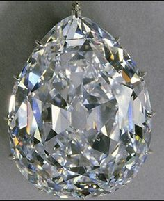 The Cullinan I, aka the Greater Star of Africa , is the largest of the Cullinan diamonds, with a pear-shaped cut and weighing 530.20 carats. It is the largest, D-color, faceted diamond in the world. The dimensions of the diamond are 58.9 x 45.4 x 27.7 mm. The stone has a total of 76 facets.