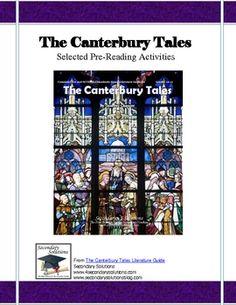 Canterbury Tales Pre-Reading Activities
