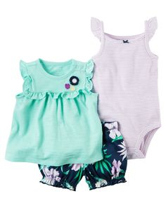 clothes cotton floral Baby Clothing Set baby rompers Girls summer pattern S. -Baby clothes cotton floral Baby Clothing Set baby rompers Girls summer pattern S. Carters Baby Girl, Baby Girl Romper, Baby Girls, Infant Girls, Toddler Girls, Baby Clothes Patterns, Cute Baby Clothes, Striped Bodysuit, Kids Fashion