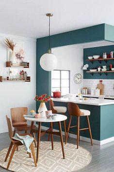 Modern mid century kitchen remodel ideas (8)