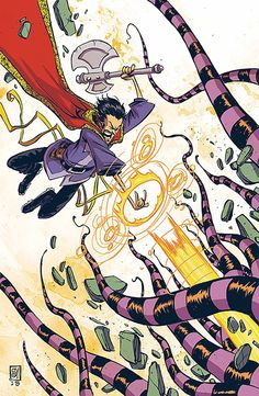 #Doctor #Strange #Fan #Art. (Doctor Strange Vol.4 #2 Variant) By: Skottie Young. (THE * 5 * STÅR * ÅWARD * OF: * AW YEAH, IT'S MAJOR ÅWESOMENESS!!!™) ÅÅÅ+