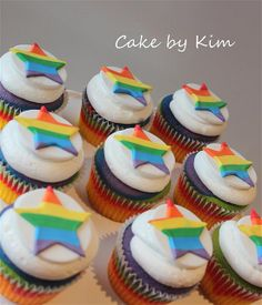 rainbow cupcakes | Flickr - Photo Sharing!