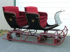 Horse Drawn Sleds and Sleighs for Sale/Carriage Restoration and ...
