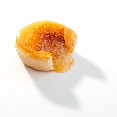 Tartes com creme de laranja