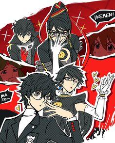 Persona 5 and Bayonetta Persona 5 Memes, Persona 5 Anime, Persona 5 Joker, Bayonetta, Super Smash Bros Game, Nintendo Super Smash Bros, Super Smash Ultimate, Shin Megami Tensei Persona, Akira Kurusu
