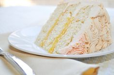We will eventually have a birthday around here:  Gluten Free White cake, can be made dairy free