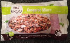 Delicious raw kangaroo mince