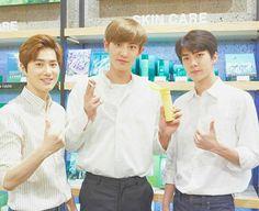 Suho, Chanyeol, Sehun