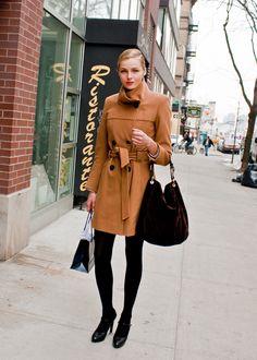 Valentina Zelyaeva on winter dressing in Russia.