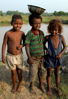 Photo about Three poor children posed in the remote village of Bihar-India. Image of india, open, dress - 43990105 Lost Boys Costume, Boy Costumes, African Children, African Men, Poor Children, Save The Children, Barbershop Design, Indian Boy, Kids Around The World