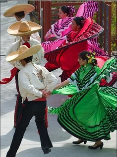dancing, sad my kids don't get to dance like this on cinco de Mayo. I did as a kid in the schools in Los Angeles