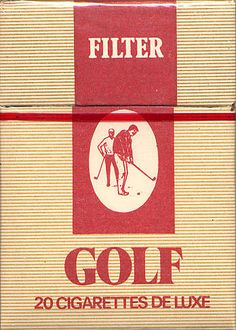 Golf Filter #cigarette