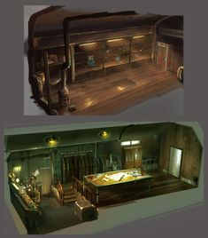 train room by Guang-Yang on DeviantArt