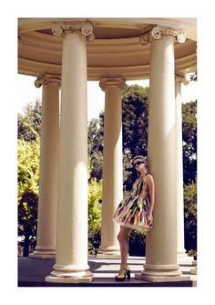 Botanical Garden Editorials - The Plaza Kvinna May 2012 Photoshoot Stars a Pretty Annabella Barber (GALLERY)