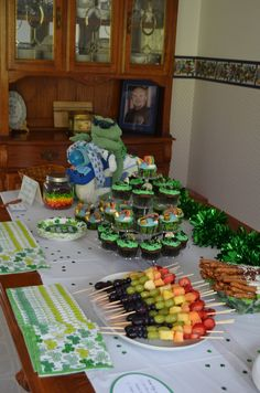 St. Patrick's Day baby shower