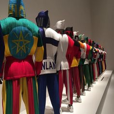 Worldwide pleats team at 'Issey Miyake' retrospective  #colorfield #pppdiary