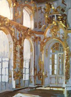 Vermeil by Laura Lacambra Shubert Aesthetic Painting, Aesthetic Art, Art Inspo, A Level Art Sketchbook, Traditional Paintings, Renaissance Art, Pretty Art, Vaporwave, Beautiful Paintings