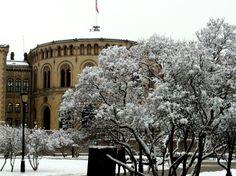 Stortinget, vinteren 2013