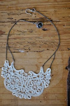 <p>I love pretty lacy things, so I'm excited to share this fun and easy DIY project from Rebekah Murray!  Today, Rebekah is going to show us how to make a beautiful vintage doily necklace.  Follow along below, or download the printable instructions here.</p> </p> <p>Finding the right doily for this project may be the hardest part.  You need one with good shape …</p>