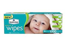 Member's Mark Premium Diaper Baby Adult Wet Wipes 1000 Ct Case (10 packs x 100) #MembersMark