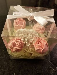 """New Special Mothers day gift 3.5"""" Pvc Box 4 flower stone and 1 Heart stone Line Dried Linens Parfume HANDMADE SCENTED STONES.. MADE TO ORDER. UNIQUE GIFT FOR YOUR LOVED ONE SMELL LAST FOR MONTHS EXCELLENT DECOR FOR YOUR BATHROOM, BEDROOM OR EVEN LIVING ROOM HANDMADE DESIGN BY TUGBA   eBay!"""
