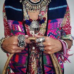 A C C E S S O R Y  O V E R L O A D  via @disfunkshionmag   #embellished #jewelry #bracelets #fashion #gold #silver #jewellery #bright #colours #boho #fashionista #instafashion #hippie #bohemian #native #wanderlust #hippielove #boholife #turquoise #tiedye #style #overload #summer #spring #surfergirl #yogi #freespirit #lovechild