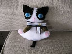 cat idea for Baylie to sew