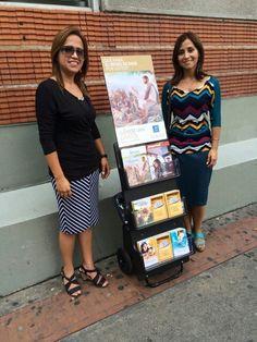 Mis queridas amigas en la predicación pública en Las Mercedes, Caracas,  Venezuela