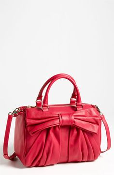 RED Valentino Bow Boston Bag available at #Nordstrom I love you.