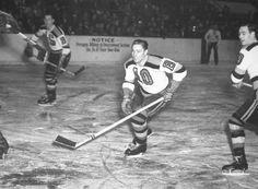 Milt Schmidt, centre, with Fern Flaman to the right. When the current collective bargaining agreement with the league expired Sept. 15, so too did the Senior Benefit. Now, with the next payment due in January and no end in sight to the current lockout, more than 300 vulnerable former NHLers or their surviving widows have been left in limbo. #hockey #NHL #lockout
