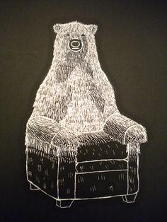 Mrs. Steiner's Middle School Art- Animal plus object scratch art project