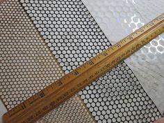scrim - POLKA DOT stencil material - 1 yard each in THREE sizes