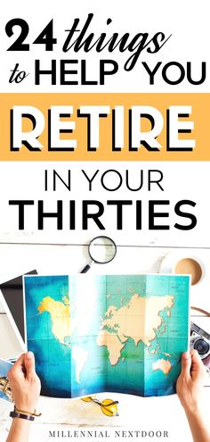Can you really retire early in your thirties? Check out these 24 things to help you retire early! Savings Challenge, Money Saving Challenge, Money Saving Tips, Money Tips, Early Retirement, Retirement Planning, Debt Free Living, Get Out Of Debt, Ways To Save Money