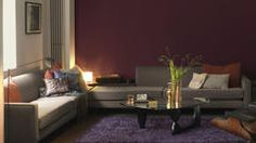 Choose warm colour schemes to create a living space that warms the heart.