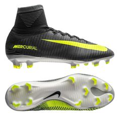 c239e255f Nike Mercurial SuperFly V CR7 FG Soccer Cleats (Seaweed Volt Hasta White)