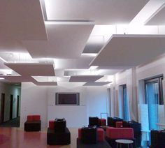 Easy And Cheap Tips: False Ceiling Diy false ceiling living room fireplaces.False Ceiling Design For Hall false ceiling wedding pictures.False Ceiling For Hall Design. Gypsum Ceiling, Ceiling Panels, Ceiling Light Fixtures, Ceiling Beams, Ceiling Lights, False Ceiling Design, Kids Interior, Interior Design, Office Ceiling