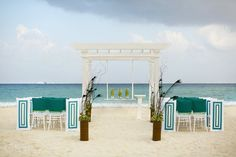 Sample of a ceremony by Del Sol Photography at Playacar Palace located in Playa Del Carmen Mexico