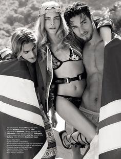 "Cara Delevingne "" Garota De Ipanema Reloaded "" by J.R. Duran Vogue Brazil November 2012"