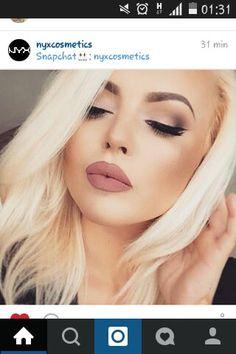 maquillaje  de la marca nyx