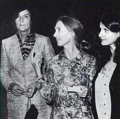 Dian Fossey, Jane Goodall and Biruté Galdikas