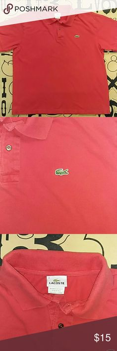 Lacoste Polo shirt Used Lacoste Polo shirt size 8 large. A little faded Lacoste Shirts Polos