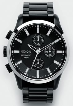 d8cf83a2189 Nixon Automatic Chrono LTD Sport Watches