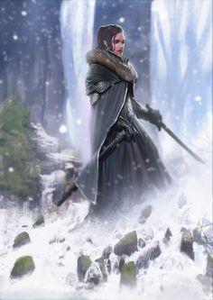 Snowlady by Asahisuperdry.deviantart.com on @deviantART