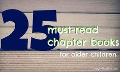 crayonfreckles: 25 must read chapter books for older children
