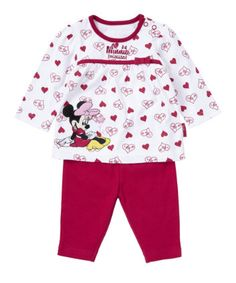 These adorable pyjamas feature the loveable Minnie Mouse. Spring/Summer 2014.